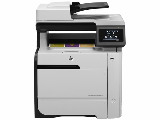 HP LaserJet Pro 300 Color MFP M375NW Printer ( in, scan, copy, fax)