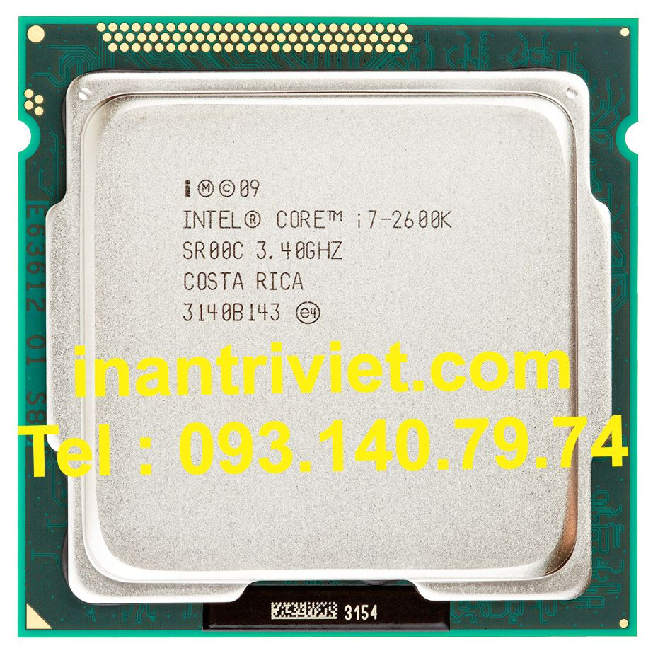 Intel® Core™ i7-2600K Processor  (8M Cache, up to 3.80 GHz)